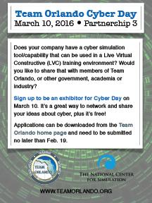 Team Orlando Ncs Plan Cyber Day In March Team Orlando News